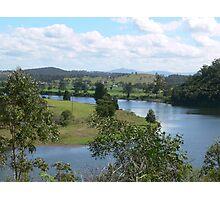 Manning River Taree N.S.W.Australia. Photographic Print