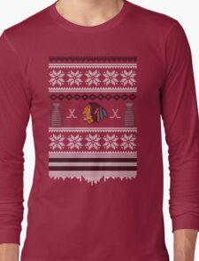 Hawksmas Sweater Long Sleeve T-Shirt