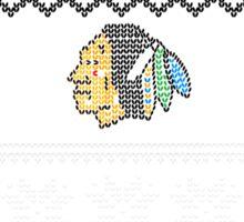 Hawksmas Sweater Sticker