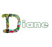 D is for Diane Photographic Print