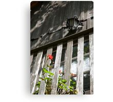 Juliet's Balcony. Canvas Print