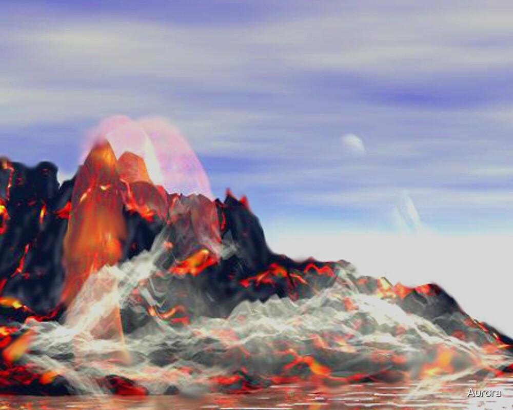 Fire spirits by Aurora