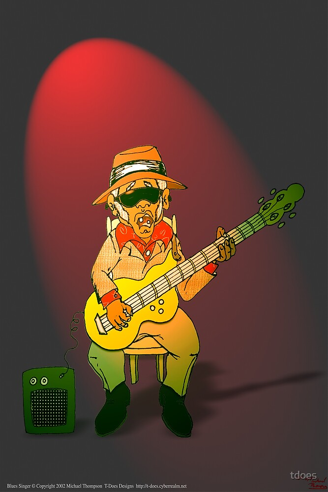 Blues Singer by tdoes