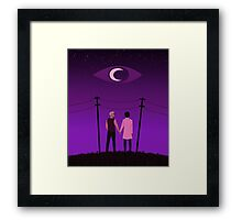 Welcome to Night Vale Sky Framed Print