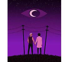Welcome to Night Vale Sky Photographic Print