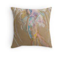 Pastel Angel Throw Pillow