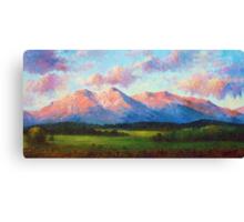 Morning Light On Mount Shavano Canvas Print