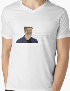 Dean Winchester - First Seal Quote Mens V-Neck T-Shirt