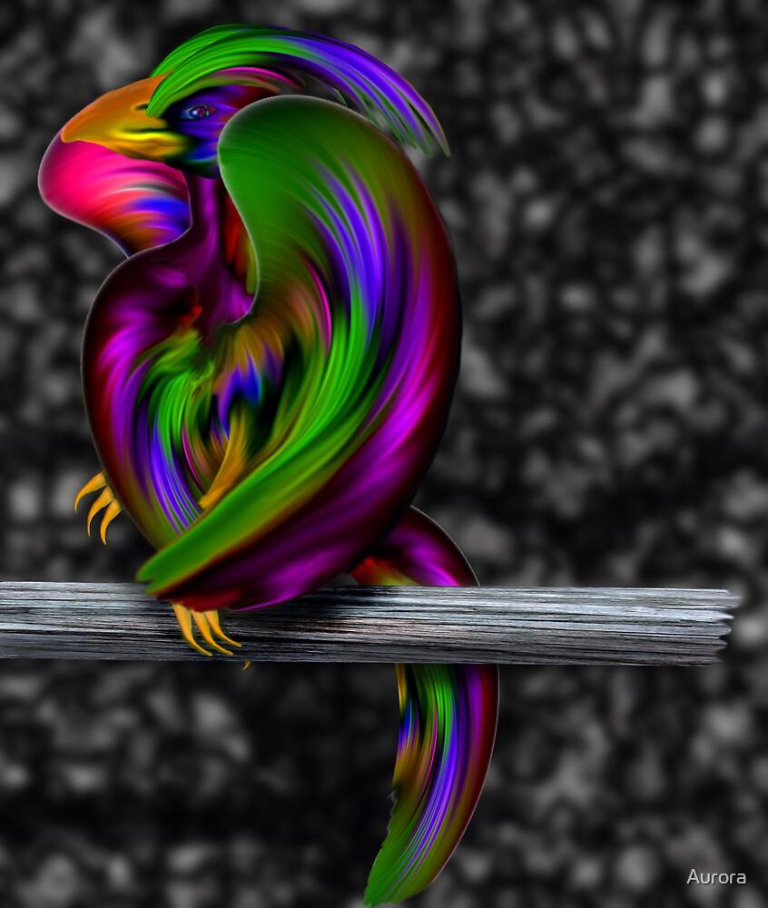 Aurora bird by Aurora