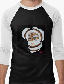 Digital Division (BLK) Men's Baseball ¾ T-Shirt