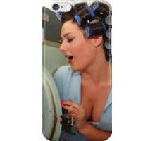 Retro Pin Up - Sparkly Kleen iPhone Case/Skin