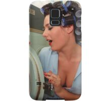 Retro Pin Up - Sparkly Kleen Samsung Galaxy Case/Skin