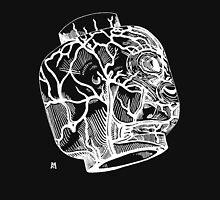 Veins of head (white) Unisex T-Shirt