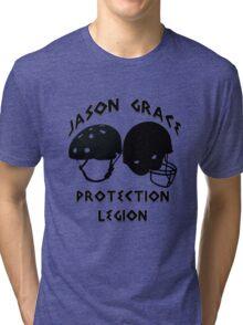 Jason Grace Protection Legion Tri-blend T-Shirt