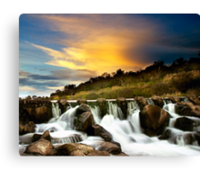 Buckley Falls Canvas Print