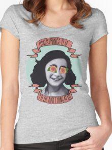 Communist Daughter Women's Fitted Scoop T-Shirt
