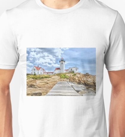 The Eastern Point Lighthouse in Gloucester Unisex T-Shirt