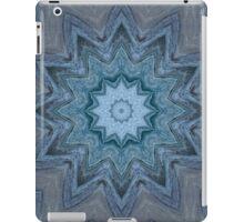 Blue Crystal Star iPad Case/Skin