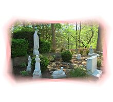 Outdoor Shrine Photographic Print