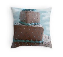 Heavenly Cake Throw Pillow