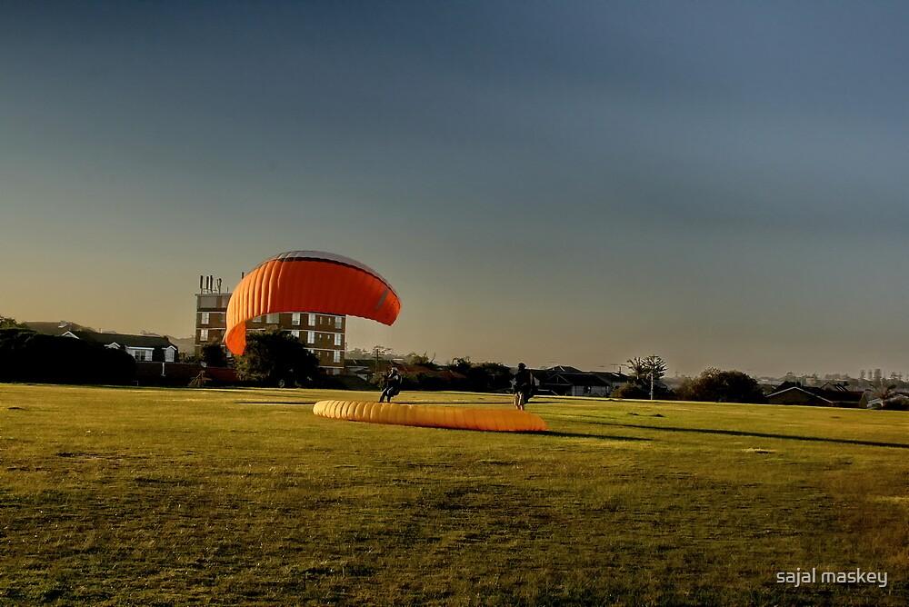 paragliding  by sajal maskey