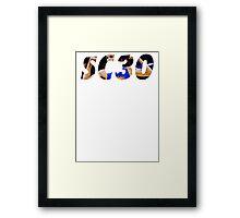 SC30 Framed Print