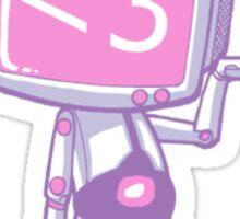 corazon televisor Sticker