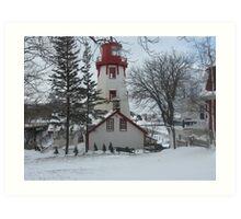 Kincardine Lighthouse Art Print