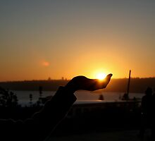 sun in hand by sajal maskey