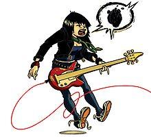 Joan Jett - The Valkyrie by Douglas Holgate