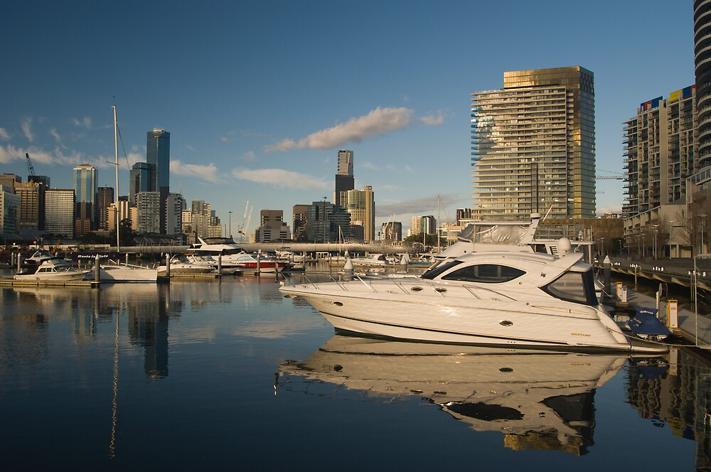 Melbourne Docklands by daveoh