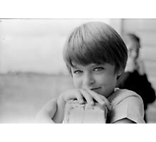 Karen was one of 22 pupils, at the one-teacher-school. Photographic Print