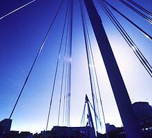 Bridge Walkers by John Violet