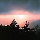 SUNRISE, NEWFOUND GAP by Chuck Wickham