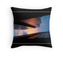Rainbow In The Skies Throw Pillow