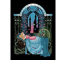 The Sleeping Rose Photographic Print