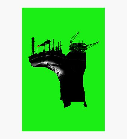 Environmental Footprint Photographic Print