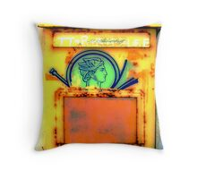 Greek mail box # 01 Throw Pillow