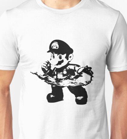 Weathered Mario Unisex T-Shirt