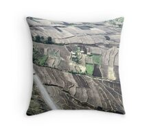 ethiopian highlands Throw Pillow