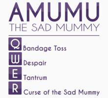 Champion Amumu Skill Set In Purple by SpiritRush