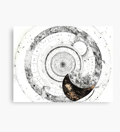 Fragmented Astrology Lapse  Canvas Print