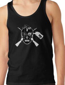Doom Skull, Beware! On Black Shirt.... Tank Top