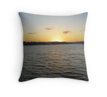 Sunset @ Hamilton, Brisbane Throw Pillow