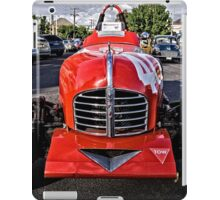 Red old Sports Car iPad Case/Skin