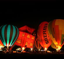 Hot Air Balloons  by Lisa  Kenny
