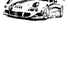 Porsche 997 GT3 RSR by garts
