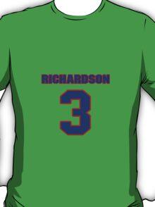 Basketball player Jeremy Richardson jersey 3 T-Shirt