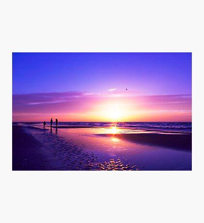 beautiful night on the beach Photographic Print
