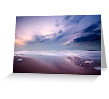 Ocean at night Greeting Card